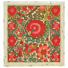 Add artful appeal above a hall table or create a charming focal point in your den with this delightful art print, showcasing a vibrant floral motif.
