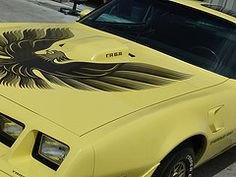 Image result for 1979 yellow firebird