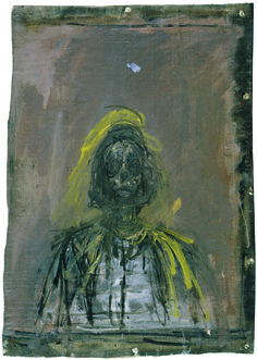 [Annette], vers 1952, Oil on canvas, 47,2 x 33,8 cm.