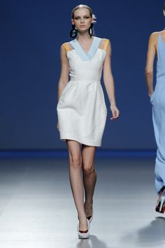 Moisés Nieto - Madrid Fashion Week P/V 2014 #mbfwm