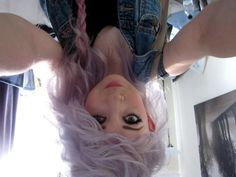 want. purple. hair. want. purple. hair. want. purple. hair.