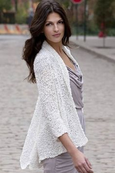 Warren 2-Way Jacket in Tahki Yarns Ripple. Discover more Patterns by Tahki Yarns at LoveKnitting. The world's largest range of knitting supplies - we stock patterns, yarn, needles and books from all of your favorite brands.
