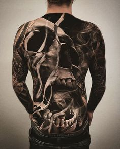 Creative and great full body tattoos - photos for men and women . - Creative and great full body tattoos – photos for hands men and women – – # F - Mens Body Tattoos, Torso Tattoos, Bild Tattoos, Body Art Tattoos, Sleeve Tattoos, Creepy Tattoos, Badass Tattoos, Skull Tattoos, Sexy Tattoos
