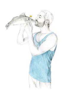 Love for meat and fish I. JAVIER RUBIN GRASSA