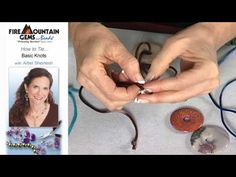Knots Tutorial - Fire Mountain Gems and Beads - for cords in beading. I particularly like that whipping knot, a great way to hide ends.