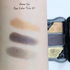 Anna Sui Cosmetics Haul   Lenallure Makeup Swatches, Anna Sui, Dog Tag Necklace, Makeup Looks, Cosmetics, Makeup Samples, Make Up Looks