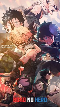 my hero academia wallpaper Boku kein Held My Hero Academia Memes, Buko No Hero Academia, Hero Academia Characters, My Hero Academia Manga, Anime Characters, Otaku Anime, Anime Manga, Anime Art, Deidara Wallpaper