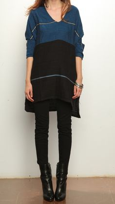 Ace & Jig Dancer Tunic - Midnight