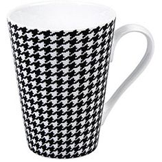 @Overstock - At Konitz, everything revolves around mugs. These 'escapada hounds tooth' mugs come in a set of four and feature a black and white hounds tooth pattern.http://www.overstock.com/Home-Garden/Konitz-Escapada-Hounds-Tooth-Mugs-Set-of-4/5918951/product.html?CID=214117 $29.69