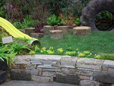 Organic Gardening Tips Key: 8316050012 Stone Raised Beds, Raised Garden Beds, Stone Edging, Broken Concrete, Old Wall, Organic Gardening Tips, Natural Garden, Garden Boxes, Garden Ideas