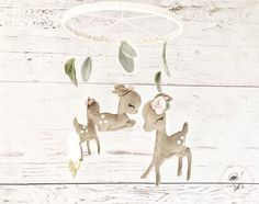 Hey, I found this really awesome Etsy listing at https://www.etsy.com/listing/529496007/deer-baby-mobile-baby-girl-mobile-baby