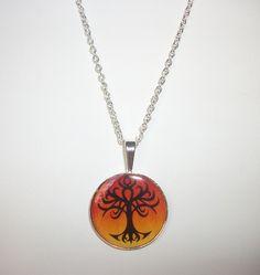 Tribal Tree of Life Necklace | HopesandDreamsStudio - Jewelry on ArtFire