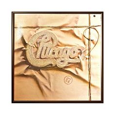 Saw this album at my house when going through records.  This one stood out to me.  I like how Chicago logo is raised from the brown paper.  Its like it was packaged tightly and waiting for you to unwrap it.