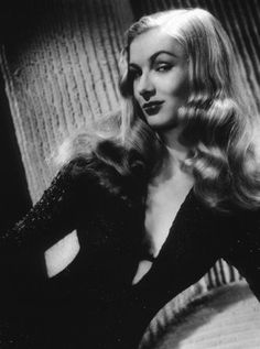 Veronica Lake's hairstyle epitomized Hollywood glamour in the 1940's... and pretty much ever since