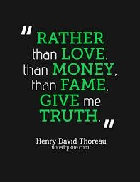 Truth is the ultimate not reality is