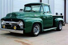 old trucks chevy Ford 56, 1956 Ford Pickup, 1956 Ford Truck, Old Ford Trucks, Old Pickup Trucks, 1956 Ford F100, F100 Truck, Ford Chevrolet, Toyota Trucks