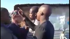Cellphone video footage showing ANCYL leader Sinki Mahlangu hurl a volley of insults at mayor Solly Msimanga on Mandela Day have emerged.