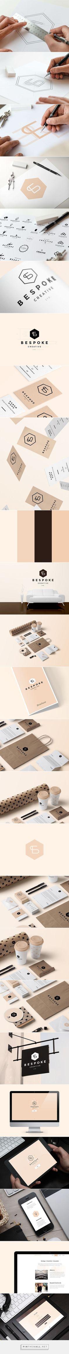 Bespoke Creative Ltd. - Branding & Website on Behance... - a grouped images picture - Pin Them All http://jrstudioweb.com/diseno-grafico/diseno-de-logotipos/
