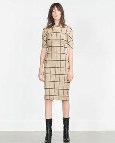 PRINTED TUBE DRESS-View all-Dresses-WOMAN | ZARA United States