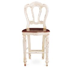 Napoleon Counter Stool Chairs / Stools - Counter Stools  Item Number : 23731 Dimensions: 43 (h) x 20 (w) x 17 (d) Displayed finish(es): BHD