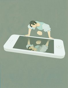 An Artist llustrates The Sad Truth Of Modern Life: Thought-Provoking, Clever And…