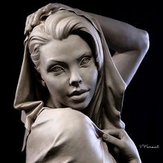 Book Figure Sculpting Volume I: Planes & Construction Techniques in Clay by Philippe Faraut Statue Ange, Sculpture Head, Polymer Clay Sculptures, Body Sculpting, Pablo Picasso, Woman Face, Figurative Art, Carving, Portrait