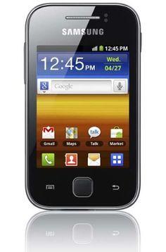 """Samsung Galaxy Y S5360 - Smartphone libre Android (pantalla 3"""", cámara 2 Mp, 0.15 GB, 830 MHz, 290 MB RAM), negro y plata (importado) B005FLI78G - http://www.comprartabletas.es/samsung-galaxy-y-s5360-smartphone-libre-android-pantalla-3-camara-2-mp-0-15-gb-830-mhz-290-mb-ram-negro-y-plata-importado-b005fli78g.html"""