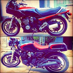 Cafe Racer Passion: An Old Yamaha XJ600 '84 in progres ...