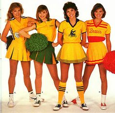 as a young girl, I wanted those socks so bad! Cheerleading Pictures, Cheerleading Uniforms, Hot Cheerleaders, Alexandra Palace, Saddle Shoes, Prom Queens, Vintage School, Old School, Cheer Skirts