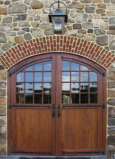 barn doors, light, stone, brick......good God in heaven I'm in LOVE!
