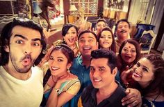 Bahu Hamari Rajni Kant: The cast of popular Indian TV show Bahu Hamari Rajni Kant, which is broadcast on the Life OK channel, celebrated International Day of Families on set with this epic group selfie. The photo includes some of the show's stars, such as Karan Grover, Ridhima Pandit and Vahbiz Dorabjee.