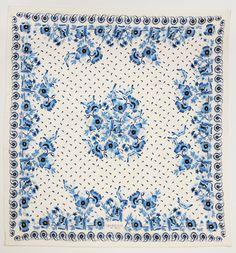 Floral Scarf by Giambattista Valli, silk, $595 #ChinaLookingGlass #DesignCollection #OnlyAtTheMet
