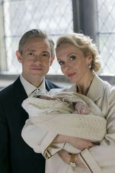 Sherlock BBC #season4 - Mary, John and Rosamund