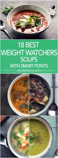 18 Best Weight Watchers Soups with Smart Points