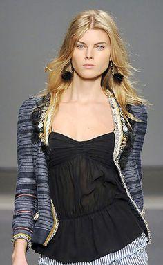 $1700 ISABEL MARANT Rare FLANA Jeweled Crystal Embellished Cardigan Jacket 0 XS #IsabelMarant #BasicJacket