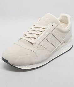 UK sneaker boutique size? reimagines this '80s runner as a cream-white dream. And yes, winter whites are okay.   ZXZ ADV Premium—size? exclusive ($113.66) by adidas Originals for size?, size.co.uk   - Esquire.com