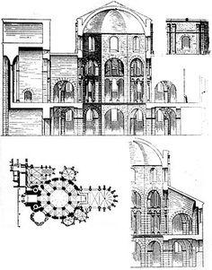Palace of Aachen, Palatine Chapel, c. 793