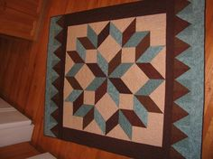 carpenter star quilt pattern free | Carpenters Star by kvonnordheim | Quilting Ideas
