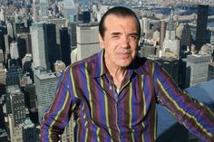 "August 29, 2012: Best known for his roles in ""The Usual Suspects,"" ""A Bronx Tale"" and ""Bullets Over Broadway,"" actor and writer Chazz Palminteri took in views of his native city from our VIP 103rd floor"