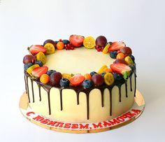 Украшение тортов кремом,шоколадом, фруктами - Сообщество «Кондитерская» - Babyblog.ru - стр. 400