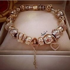>>>Pandora Jewelry OFF! Pandora Bangle, Pandora Bracelet Charms, Pandora Jewelry, Pandora Pandora, Charm Bracelets, Cute Jewelry, Charm Jewelry, Jewelry Accessories, Women Jewelry