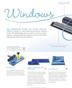 ENJO Product Brochure Canada 2016 #ClippedOnIssuu Product Brochure, Magazine Layouts, Canada, Cleaning, Easy, Products, Home Cleaning, Gadget