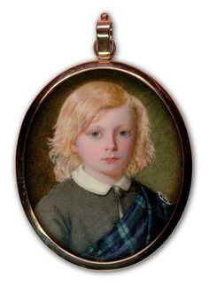 A Private Portrait Miniature Collection: 19th Century Miniatures 1851-1900: