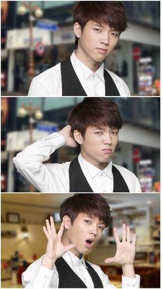 Woohyun cutee