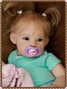 Ella Mae Sculpt by Jannie de Lange Reborned by Puddin' Cake Babies | eBay