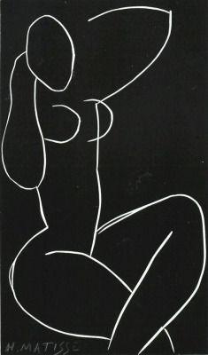 Henri Matisse's line drawings