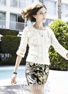 Style Icon Alexa Chung at Viceroy Santa Monica Alexa Chung Street Style, Vogue Korea, Famous Celebrities, Skirt Outfits, Who What Wear, Get Dressed, Casual Chic, Passion For Fashion, Lace Skirt