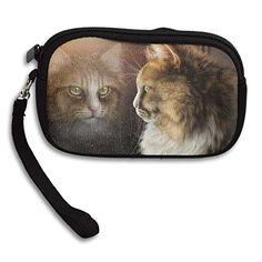 Cats Glass Window Women's Zipper Small Wallet Purse Porte-monnaie Clutch Cards Holder Wallet Purse Business Card...   #twitch