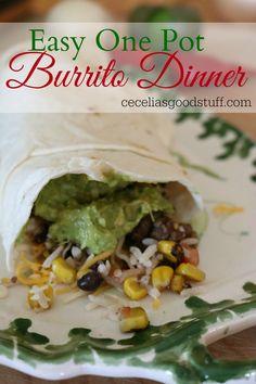 Easy One Pot Burrito