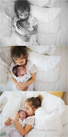 Ideas Baby Pictures Newborn Hospital Big Sisters For 2019 Lifestyle Newborn Photography, Children Photography, Newborn Sibling Photography, Newborn Photographer, Photography Poses, Digital Photography, Photography Reflector, Alphabet Photography, Photography Outfits